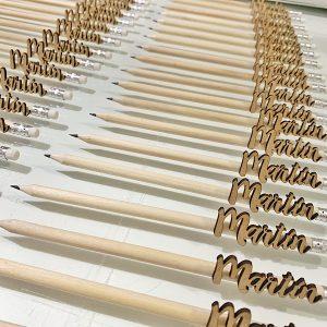 Lápices personalizados